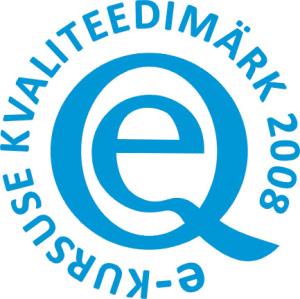 E-kursuse kvaliteedimärk 2008