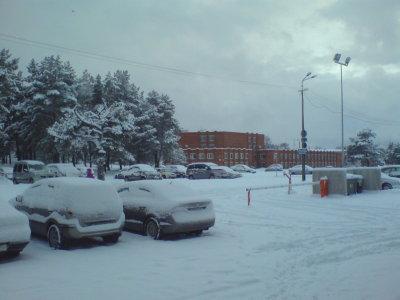 Talvine vaade ITK ukselt