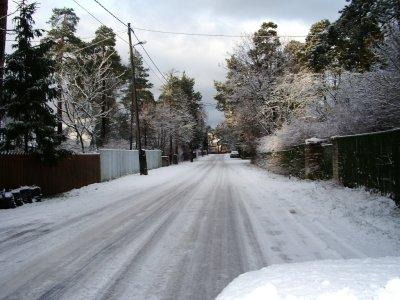 Talvepilt Pääskülast